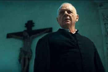 "ANTHONY HOPKINS stars as Father Lucas in New Line Cinema's psychological thriller ""THE RITE,"" a Warner Bros. Pictures release."