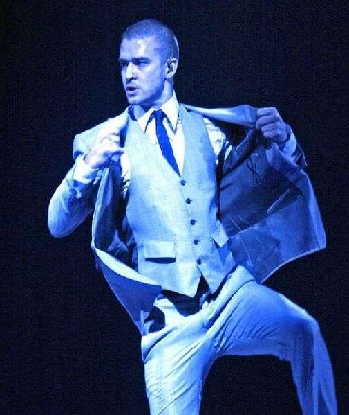Justin Timberlake four years ago.