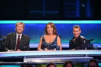 Nigel Lythgoe (L), Mary Murphy (C) and Adam Shankman (R) judge the competition on SO YOU THINK YOU CAN DANCE on FOX. ©2009 Fox Broadcasting Co. CR: Mathieu Young/FOX