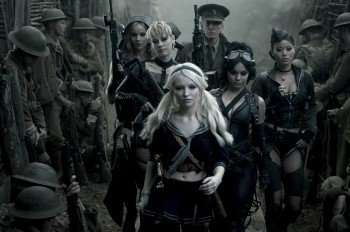 (l-r) Abbie Cornish, Jena Malone, Emily Browning, Scott Glenn, Vanessa Hudgens, Jamie Chung in 'Sucker Punch' (Credit: Clay Enos/Warner Bros.)