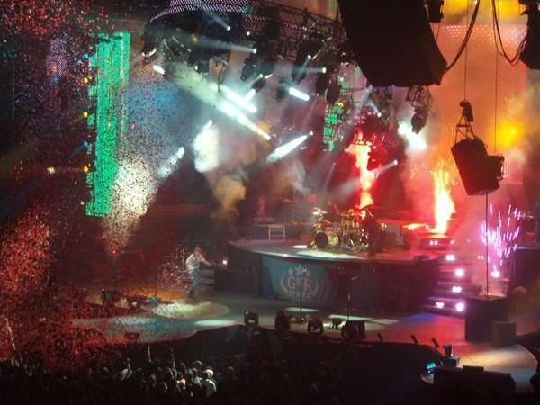 Guns N'Roses concert