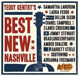 Teddy Gentry's 'Best New Nashville' album cover