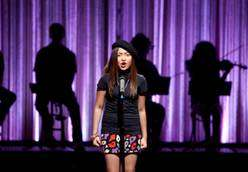"Charice sings ""All By Myself"" on GLEE - photo courtesy ©Fox"