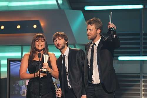 Lady Antebellum at 46TH ANNUAL ACADEMY OF COUNTRY MUSIC AWARDS. Photo: Monty Brinton/CBS ©2011 CBS BROADCASTING INC. All Rights Reserved.