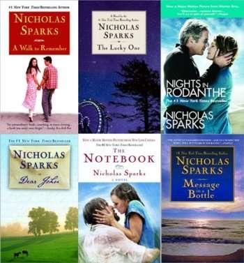 books-by-nicholas-sparks