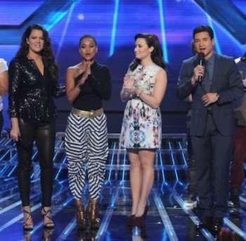 The X Factor (CR: FOX/Ray Mickshaw)