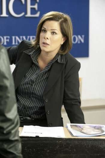 Another SVU Rendezvous For Marcia Gay Harden - Hollywood