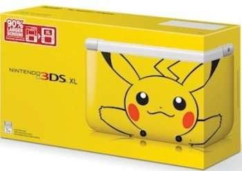 Pikachu Nintendo 3DS XL (CR: Nintendo)