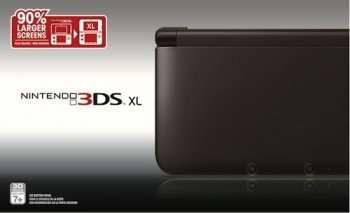 NINTENDO 3D XL Black (Nintendo)