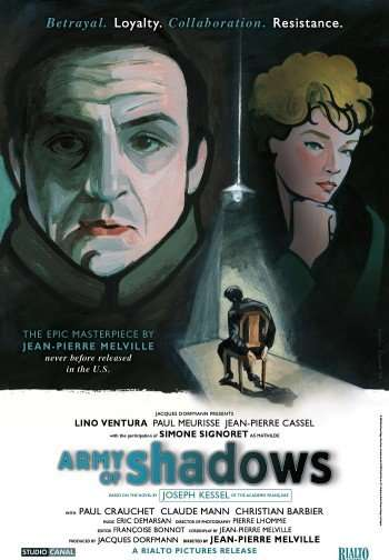 ARMY OF SHADOWS Film Poster