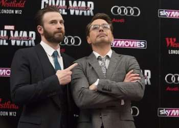 "European Premiere Of Marvel's ""Captain America: Civil War"" in"