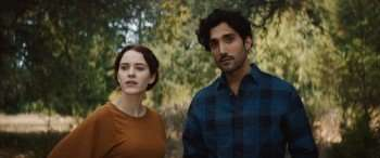 "Rachel Brosnahan and Dominic Rains in ""Burn Country"" (Samuel Goldwyn)"