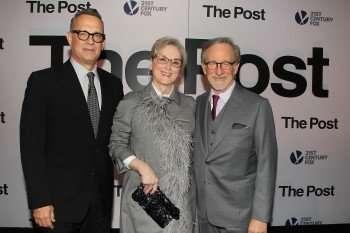 Tom Hanks , Meryl Streep and Steven Speilberg
