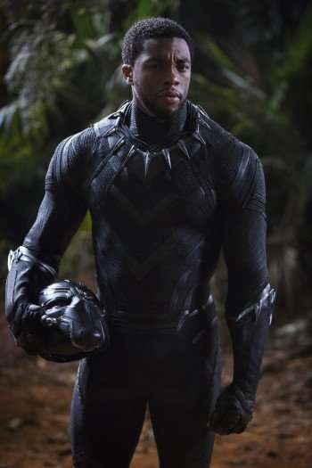 The Heat Is On Chadwick Boseman Sizzles As Black Panther Hollywood Outbreak