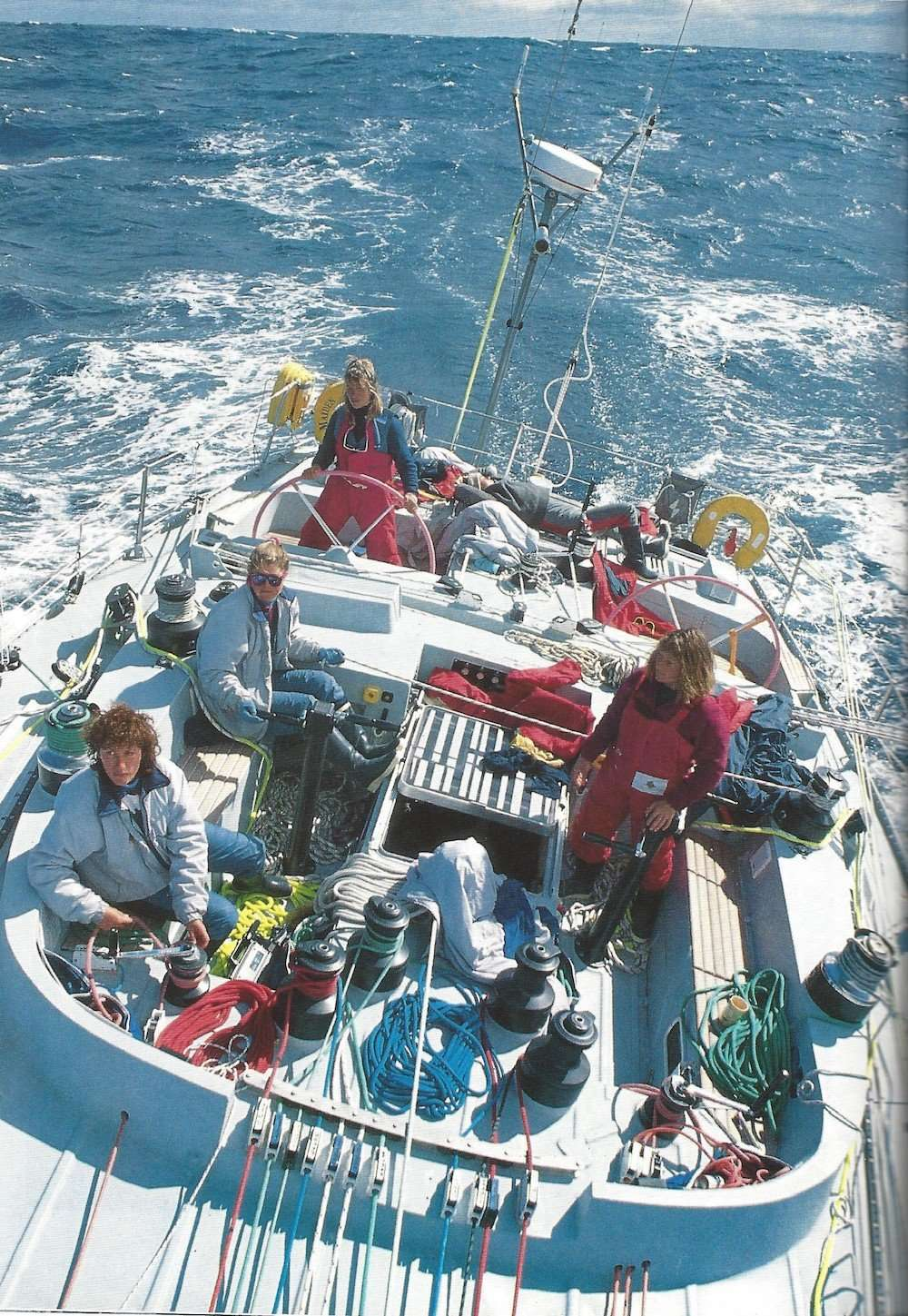 U0026 39 Maiden U0026 39 Review Tracy Edwards Documentary Sets Sail With