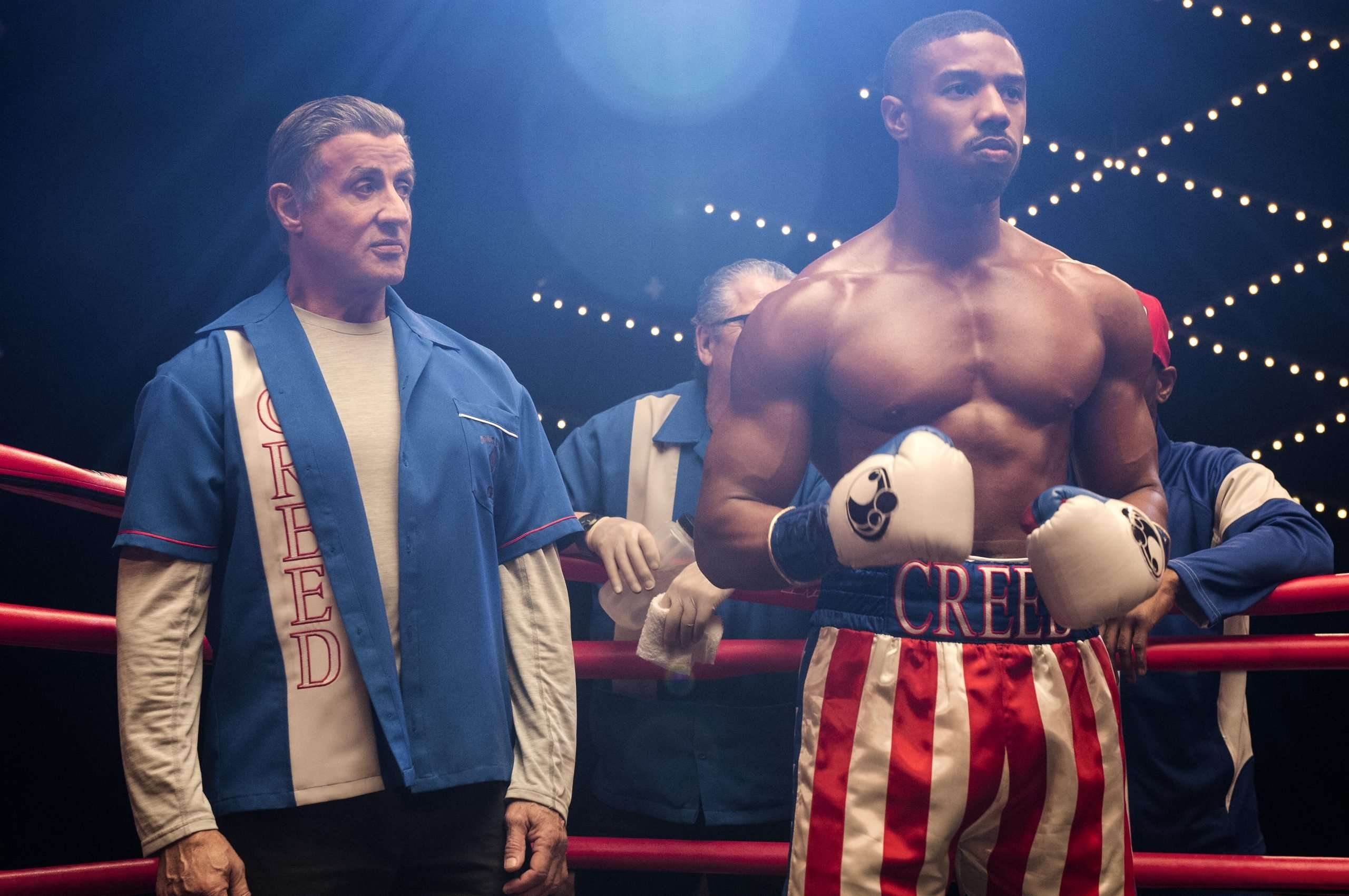 Permanecer difícil ángel  With Michael B. Jordan, Sylvester Stallone Knows 'Creed' Is In Good Hands  (And Fists) - Hollywood Outbreak